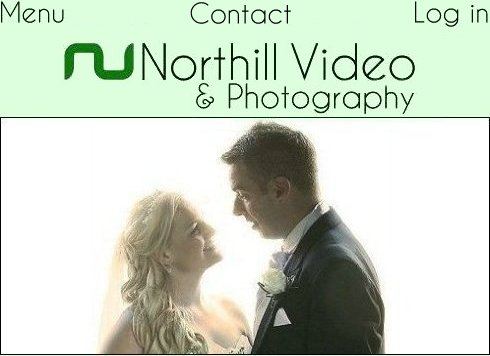 Northill Wedding Videography and Photography; image shows a happy couple